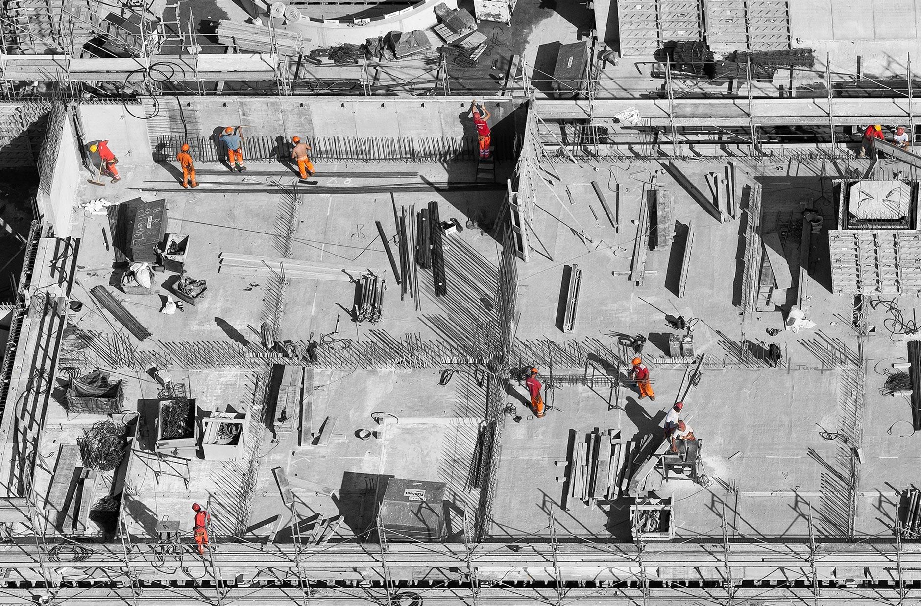 στάδια κατασκευής σπιτιού