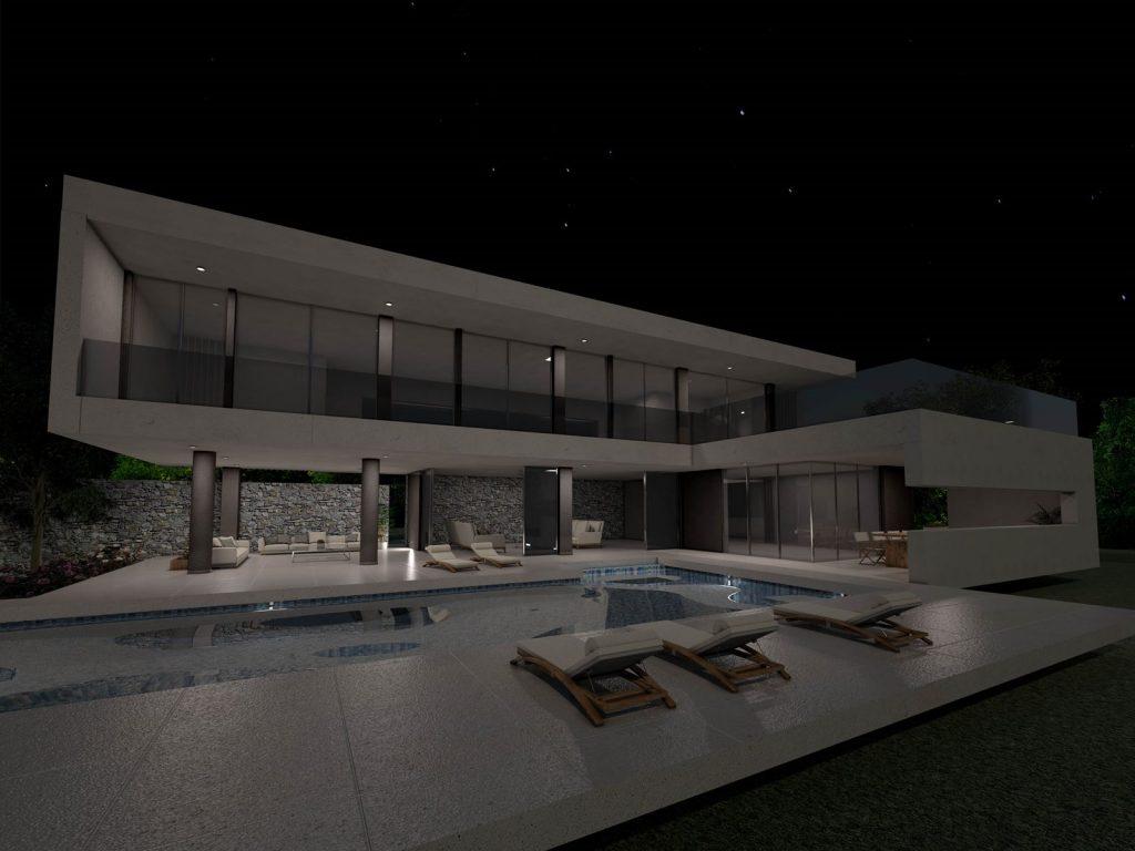 Minimalist Two-Storey Residence in Port Heli