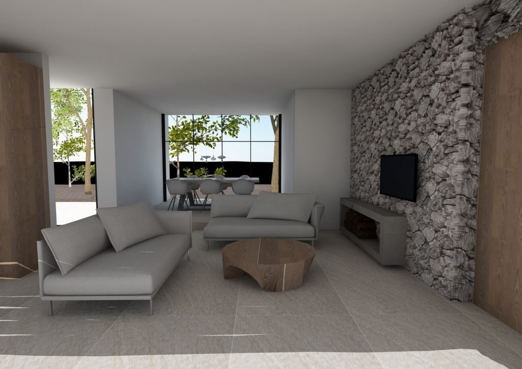 Three Modern Two-Storey Residences in Porto Heli