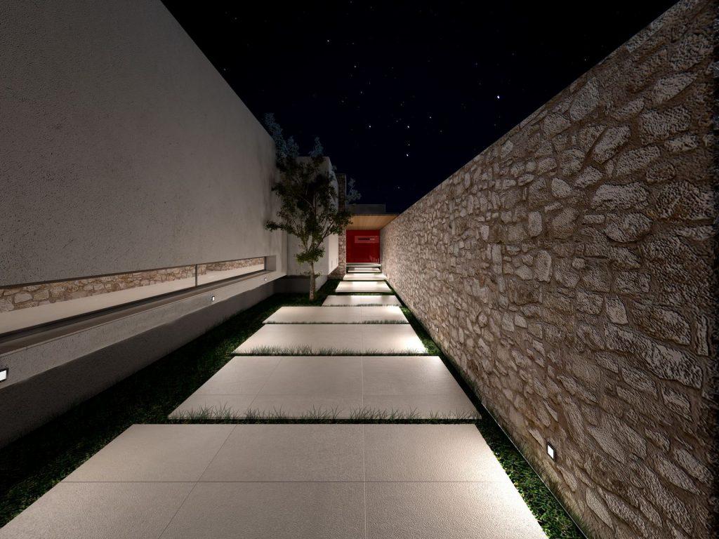 Two Minimalist Residences in Corfu