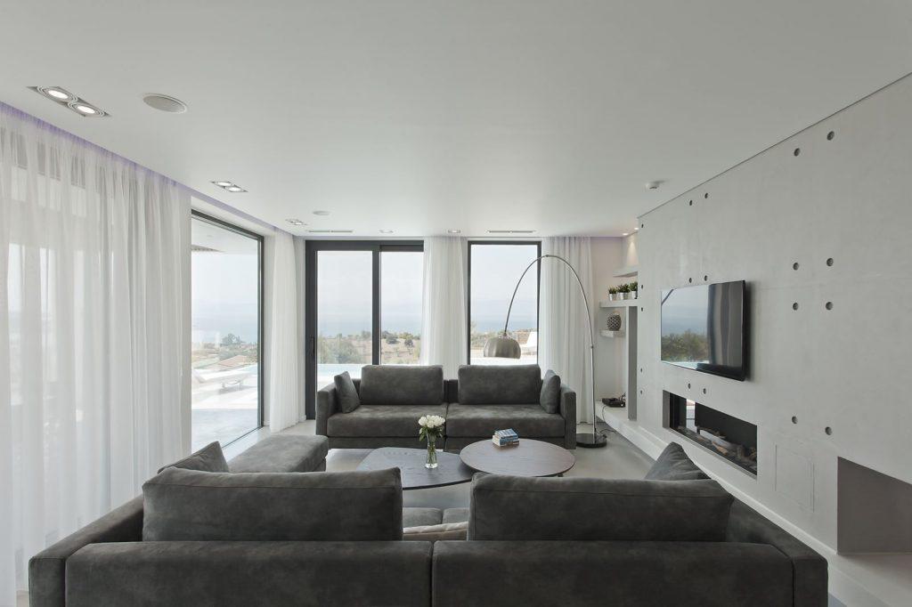 Modern Two-Storey Residence in Porto Heli