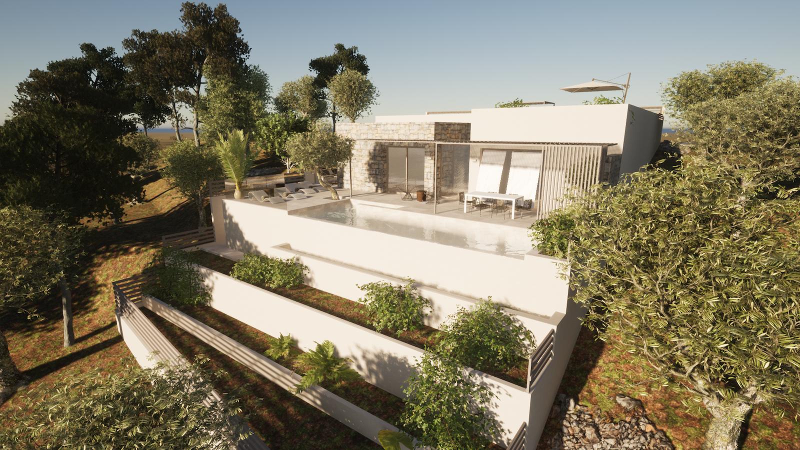 Modern Residence in Porto Heli